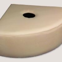 Мягкая платформа для воздушно-пузырьковых колонн в форме 1/4 круга