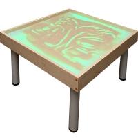 """Световой модуль с песком для рисования """"Радуга"""", на ножках"""